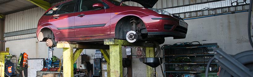 ford focus scrap car