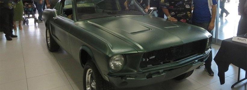 bullitt car on show