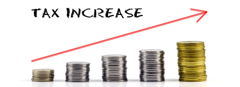 vehicle tax increase