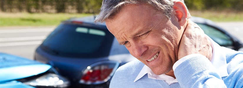 neck injury caused by car accidents