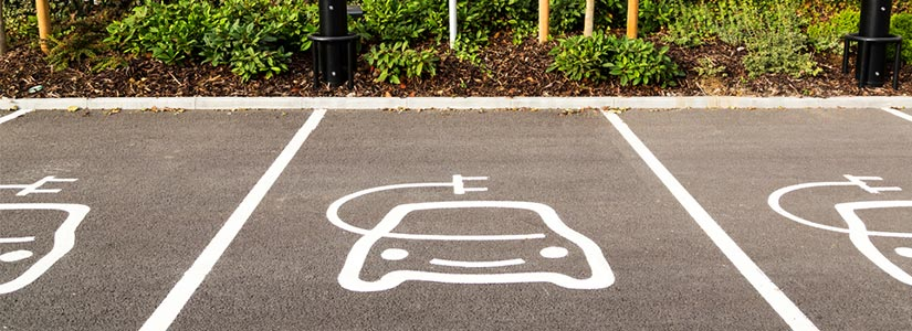 electric car parking bays