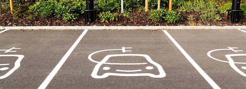 electric car parking bays