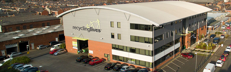 Recycling Lives Offices