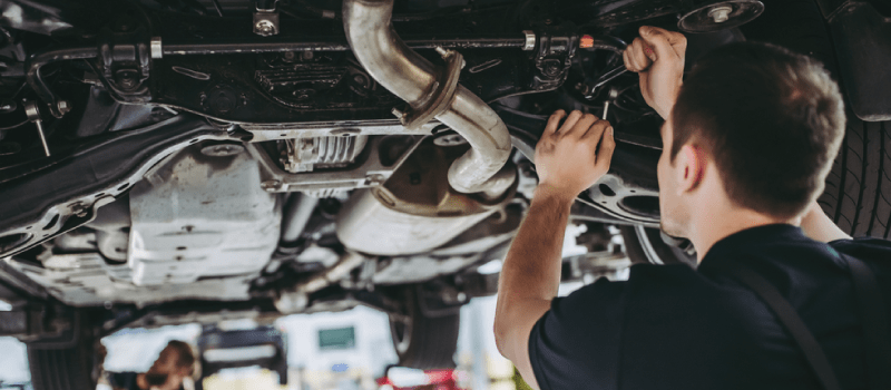 an mot inspection mechanic