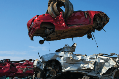 car-in-scrapyard