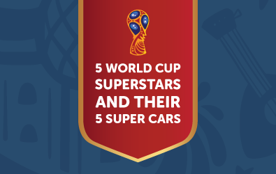 worldcup 2018 players and cars