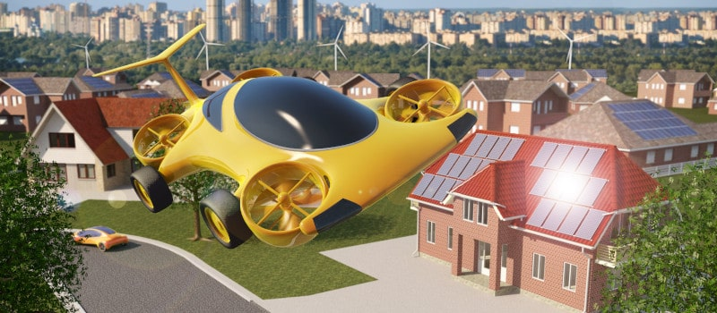 3D flying car