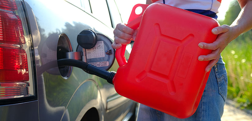 jerry can with fuel